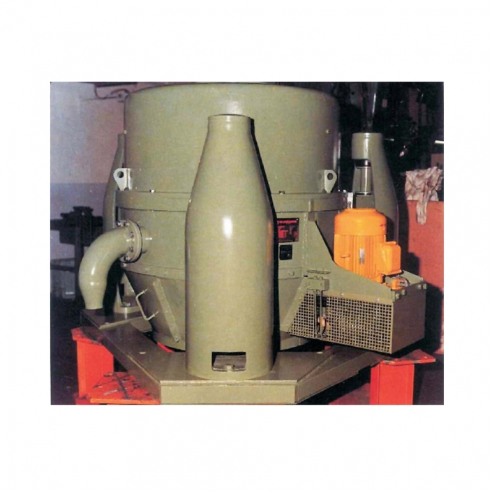 Vertical pusher centrifuge